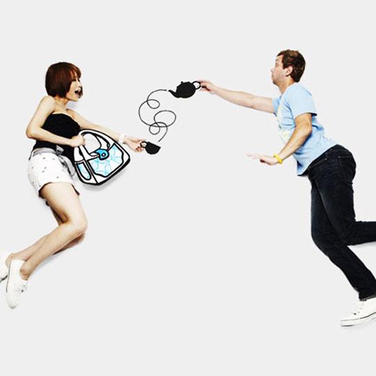 , Sacs Jump From Paper par Chay Lin Su et Rika Lin : BD en Bandoulière