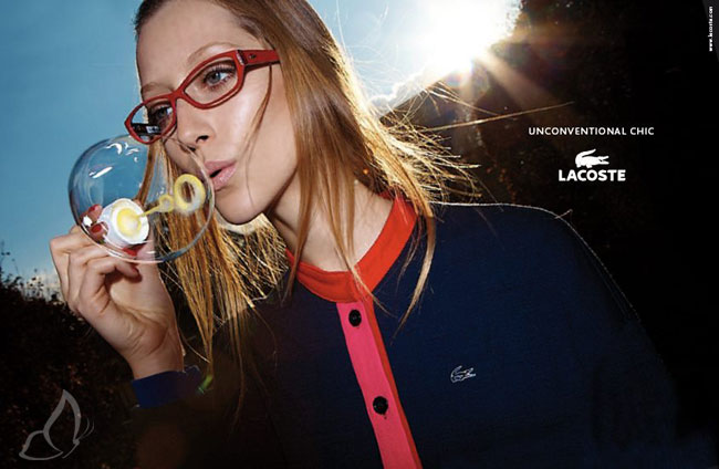 , Lunettes Lacoste Hiver 2011 2012 Campagne
