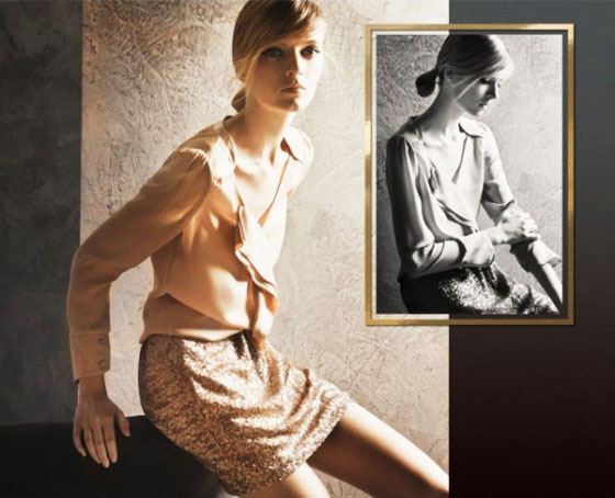 , Massimo Dutti Femme Lookbook Novembre 2011