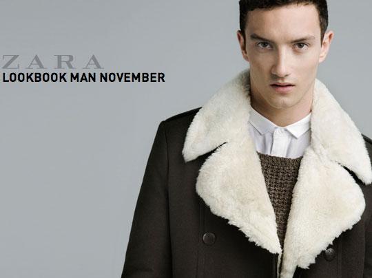 zara homme novemebre 2011 0 Zara Homme Hiver 2011 2012 : Lookbook Novembre