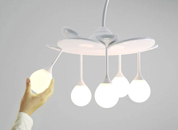 Drop Light DOOlight Luminaire 2 Drop Light by Doolight : Gouttes de Lumière Modulables