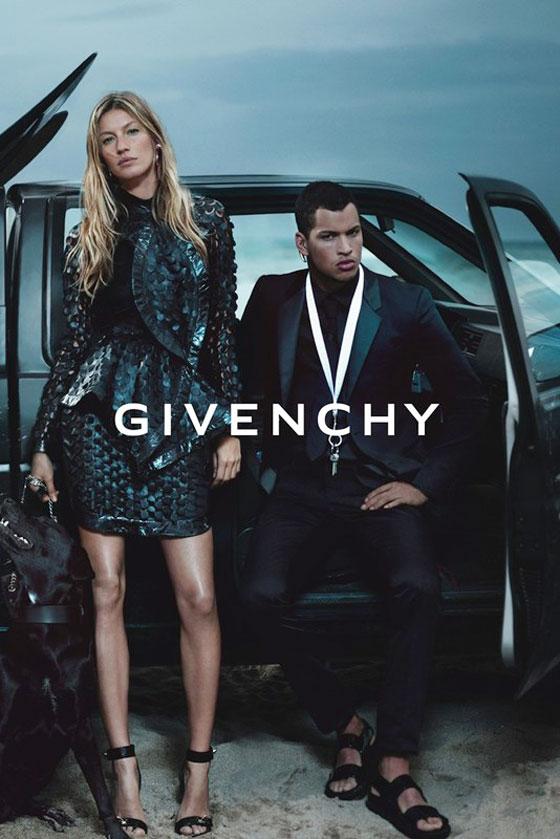 , Givenchy Printemps Ete 2012 Campagne avec Gisele Bundchen