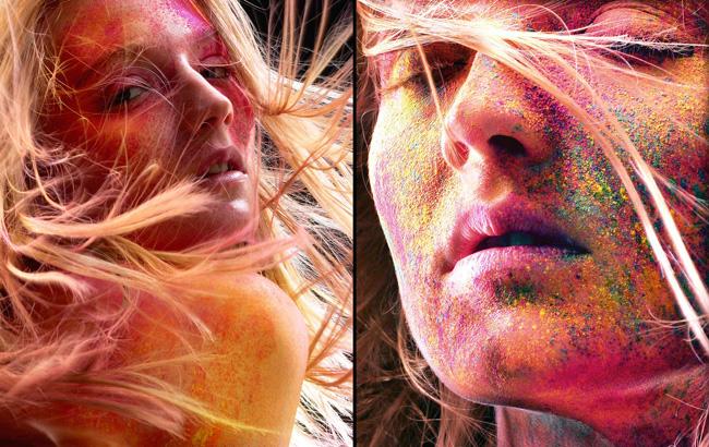 , Iain Crawford Photographie : Belle Explosion de Couleurs