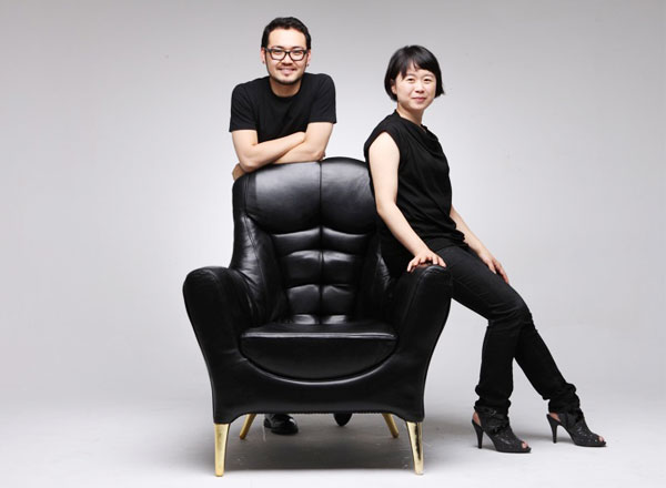 Mr Chair Soojin Hyun Sangho Park 1 Mr. Chair par Soo Jin Hyun et Sangho Park : Un Fauteuil Viril