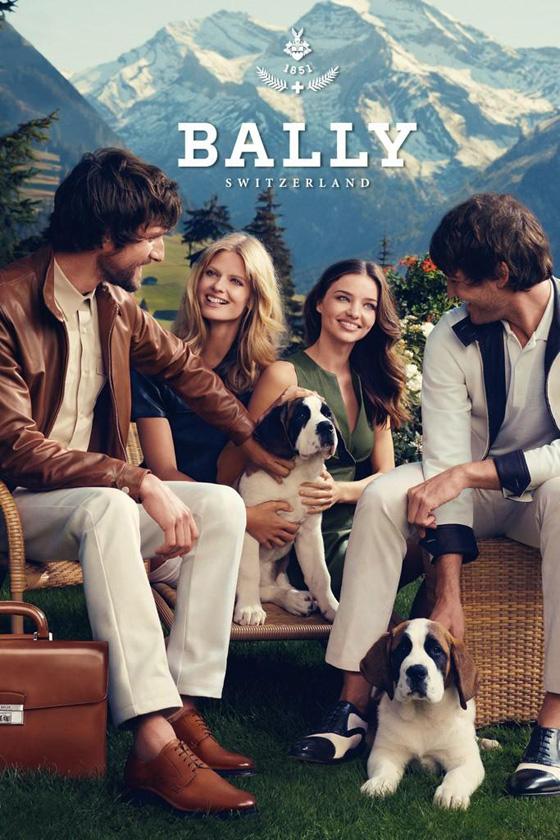 , Bally Printemps Eté 2012 Campagne