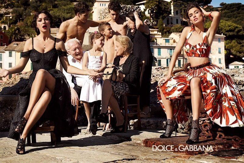 , Dolce & Gabbana Printemps Été 2012 avec Monica Bellucci