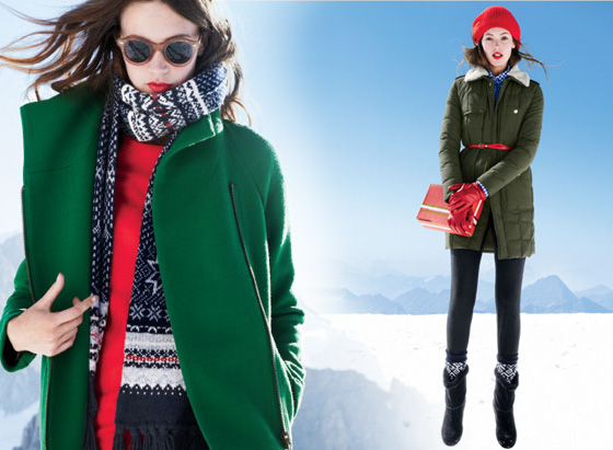 , J. Crew Femme : Collection Noël Holiday 2011