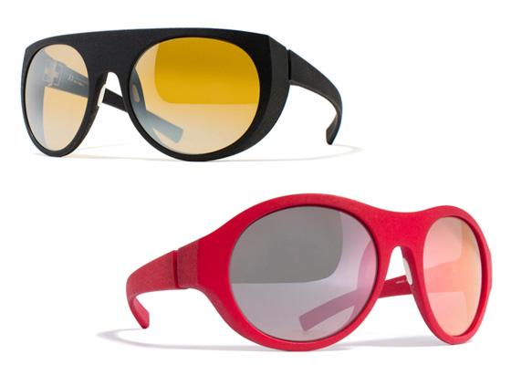 moncler mykita lunettes soleil, Moncler x Mykita : Lunettes de Soleil Sport et Multicolores