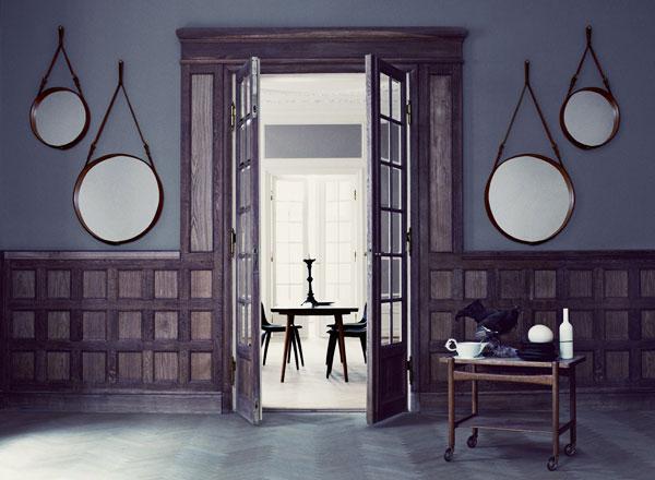 , Reedition du Miroir de Jacques Adnet pour Hermes