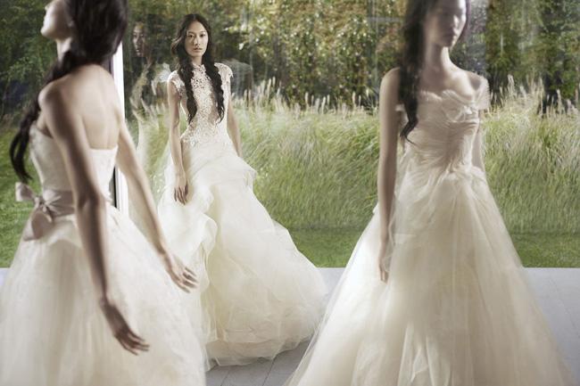 , Vera Wang Printemps Ete 2012 : Une Campagne Romantique