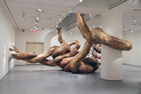 , Henrique Oliveira : Spectaculaires Sculptures en Bois