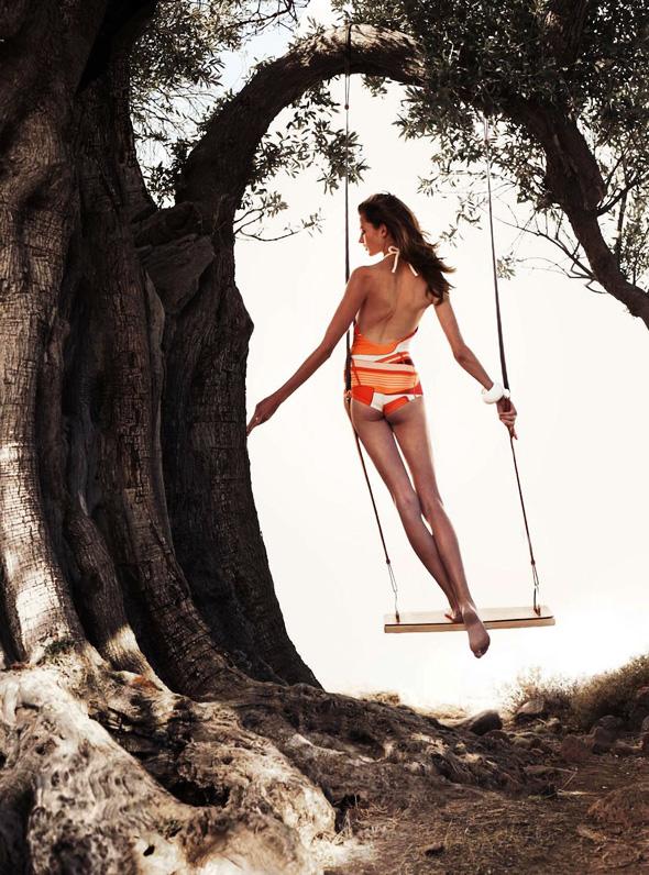 , Campagne Hermès Eté 2012 : Au Pied des Oliviers