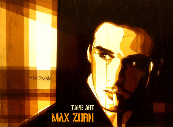 max zorn tape art scotch 1 Max Zorn : Street Art et Bandes Adhesives (video)