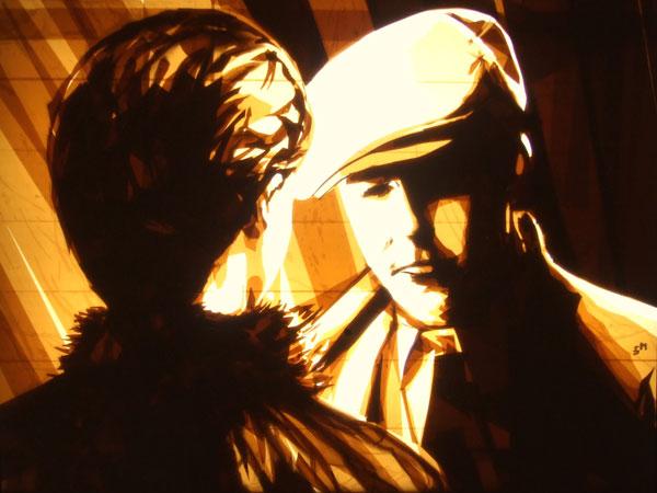 , Max Zorn : Street Art et Bandes Adhesives (video)