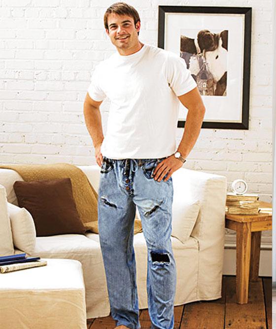 , Pyjamas Jean Trendy pour Dormir avec Style