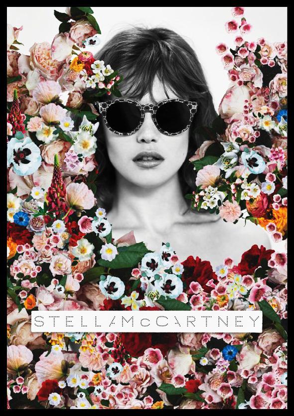 , Stella McCartney Campagne Eté 2012 : Jardin de Fleurs et Collage
