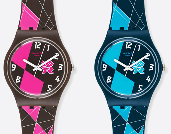 , Montres Swatch : Collection Jeux Olympiques Londres 2012