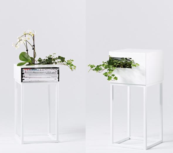 , A2 Designers Street : Etagère pour Plantes et Livres