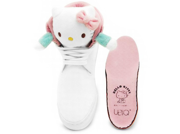 , UBIQ Fatima & Hello Kitty : Baskets Girly à Tête de Chat
