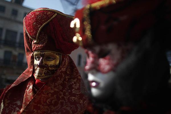 carnaval venise 2012 4 Carnaval de Venise 2012 : Voyage au Pays des Masques
