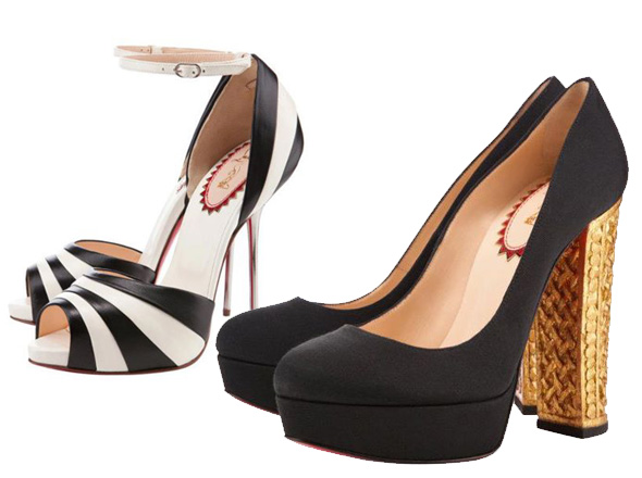collection de chaussures louboutin