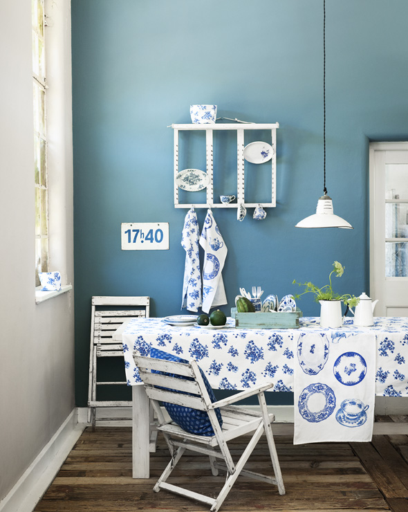 , H&M Home 2012 : Collection Maison Bleu Déco