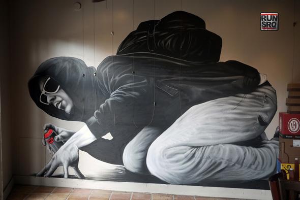 mto graffiti art 4 MTO un Graffiti Artiste aux Peintures Hyper Realistes