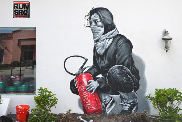 , MTO un Graffiti Artiste aux Peintures Hyper Realistes