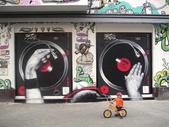 mto graffiti art 7 MTO un Graffiti Artiste aux Peintures Hyper Realistes