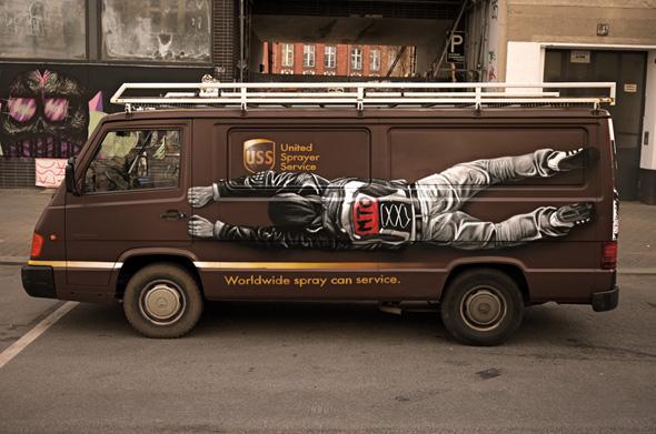mto graffiti art 9 MTO un Graffiti Artiste aux Peintures Hyper Realistes