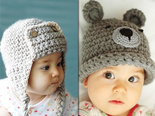 84b0b0315cd Beliz Saruhanli   Adorables Bonnets en Crochet pour Bébé - MaxiTendance