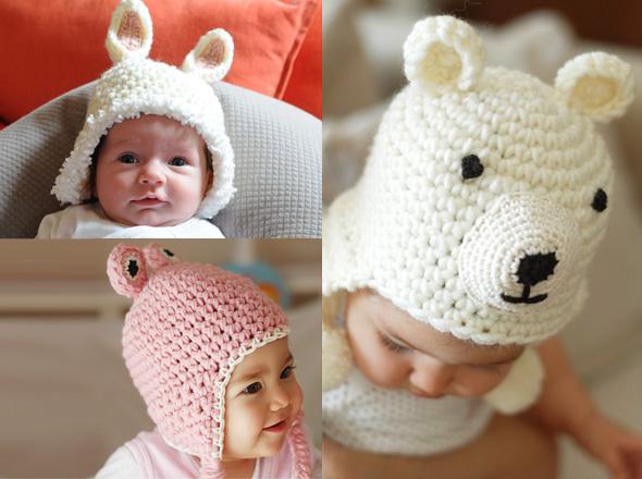 thread and etc baby 5 - Beliz Saruhanli : Adorables Bonnets en Crochet pour Bébé