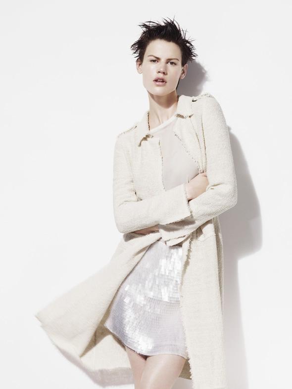 , Zara Printemps Eté 2012 Campagne avec Saskia de Brauw