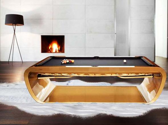 , Toulet BlackLight : Billards de Luxe à 25.000 Euros
