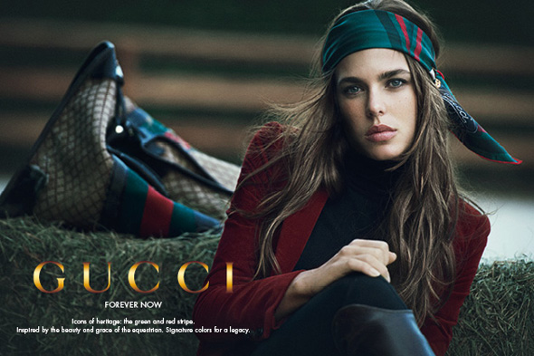 , Gucci Forever Now Campagne avec Charlotte Casiraghi