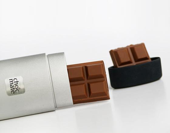 , Choc Mate par Cameron Snelgar : Etui Design pour Tablette de Chocolat