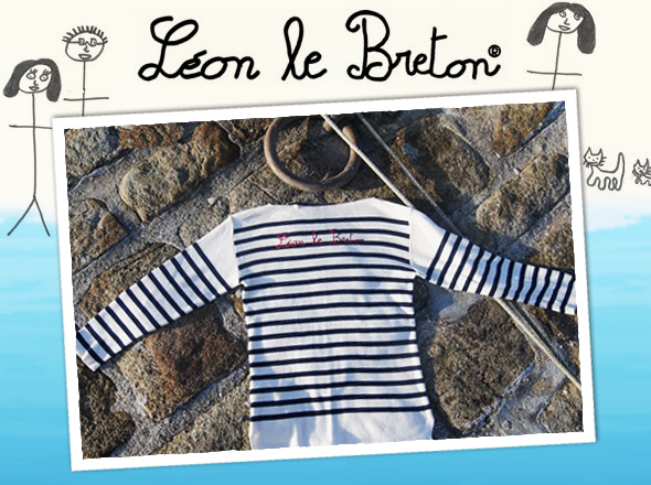 leon le breton ete 2012 1 Leon Le Breton : Style, Rayures et Marinières Bio