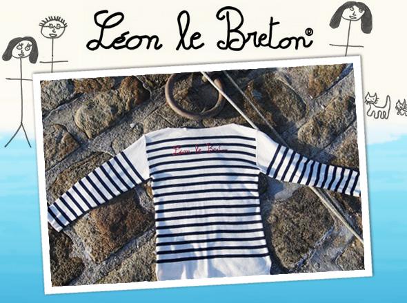 , Leon Le Breton : Style, Rayures et Marinières Bio