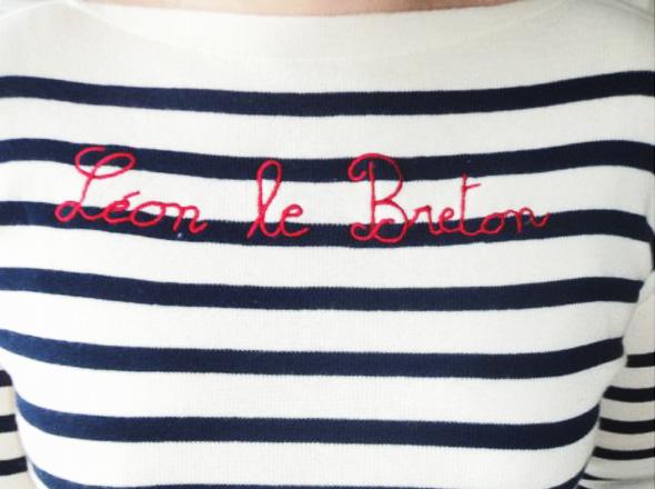 leon le breton ete 2012 3 Leon Le Breton : Style, Rayures et Marinières Bio