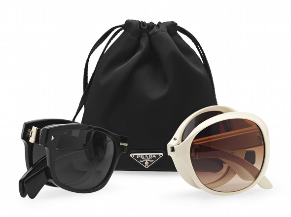 prada sunglasses ss ete solaires folding in love 2012 1 PRADA Folding In Love 2012 : Lunettes de Soleil Pliables