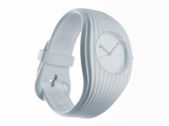 , Alessi Grow Watch : Une Montre Bracelet au Design Musclé