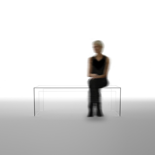 , The Invisibles Light by Tokujin Yoshioka : Mobilier Design Invisible