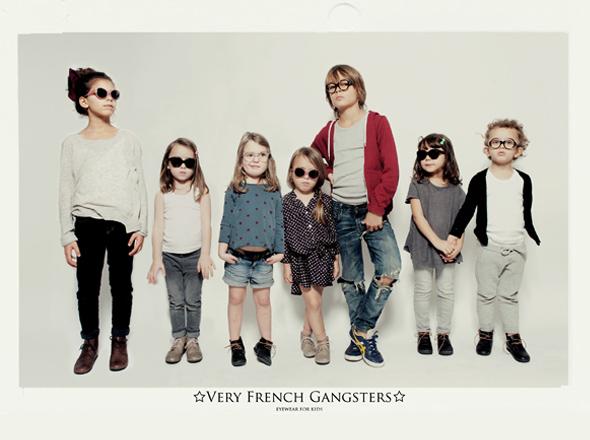 , Very French Gangsters : Lunettes de Soleil Chics pour Enfants Stars