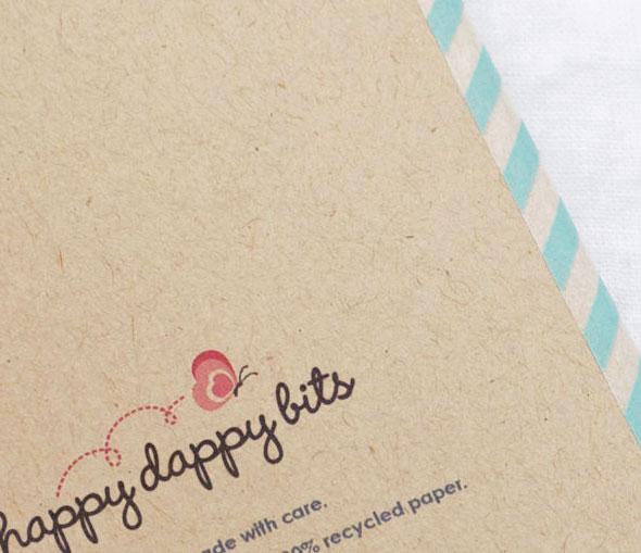 , Happy Dappy Bits : Carnets de Notes Illustrés Ecologiques