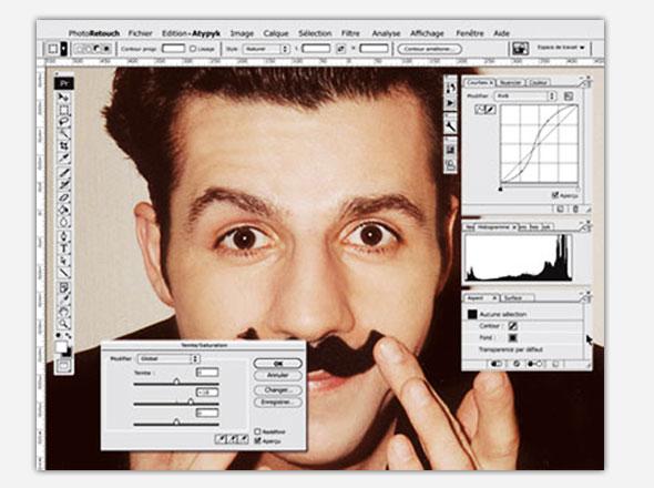 , Miroir PhotoRetouch par ATYPYK : Photoshop dans la Salle de Bain