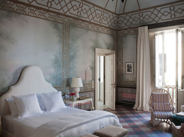 , Hotel Palazzo Margherita Italie par Francis Ford Coppola