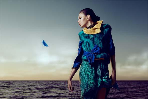 , Oiseaux de Mode par Xi Sinsong pour Bambi Magazine