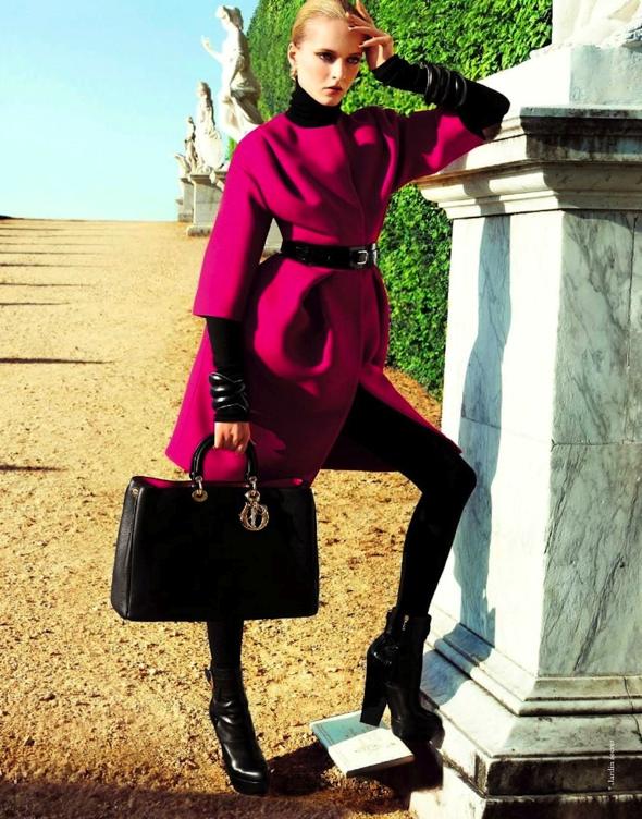 , Campagne Le Jardin Secret de Dior : Retour à Versailles