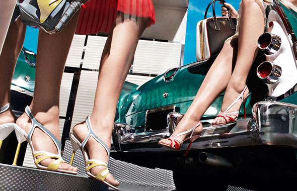 prada shoes women ss ete 2012 4 Sandales et Escarpins Prada Eté 2012