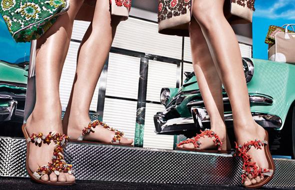 prada shoes women ss ete 2012 9 Sandales et Escarpins Prada Eté 2012